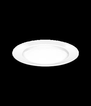 Pillivuyt - Plissé Tallerken Flad - Hvid Ø22Cm
