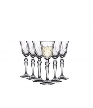Lyngby Glas - Krystal Melodia Snapseglas - 5 Cl. - 6 Stk.