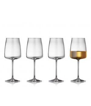 Lyngby - Krystal Zero Hvidvinsglas 4 Stk. - 43 Cl