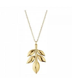 Georg Jensen - Ornament 2016 Magnolia Blad - Belagt Med 24 Karat Guld