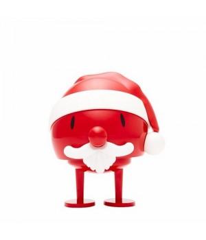 Hoptimist Santa Claus Bumble - Rød Plast 15 Cm.
