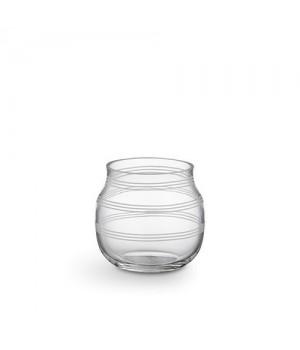 Kähler Omaggio Glas Fyrfadsstage - Klar Højde: 7,5 Cm.
