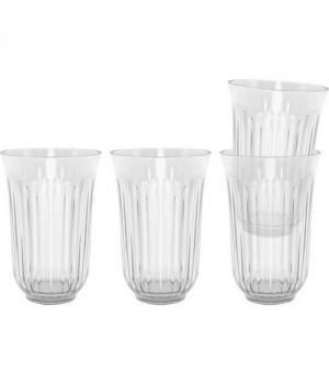 Det originale Lyngby caféglas kan indeholde op til 42 cl. og gør din servering af drikkevarer særlig stilfuld.