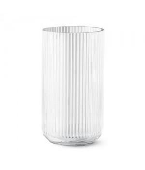 Lyngby Vase Klar Glas 35 Cm.