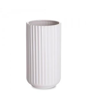 Lyngby By Hilfling Vase i hvid 20 cm