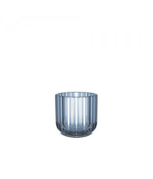 Lyngby Stagen 6,5 Cm. - Blå Glas.