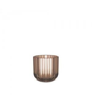 Lyngby Stagen 6,5 Cm. - Brun Glas.