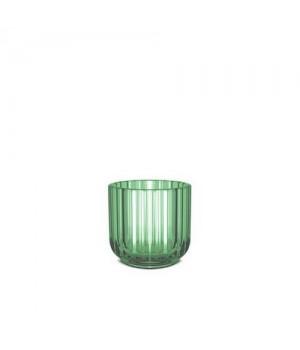 Lyngby Stagen 6,5 Cm. - Grøn Glas.