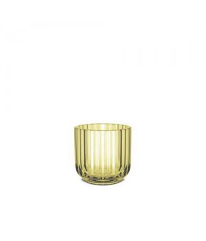 Lyngby Stagen 6,5 Cm. - Gul Glas.