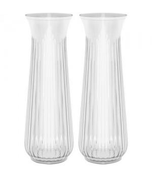 Lyngby Vandkaraffel 1 Liter I Glas - 2 Stk.