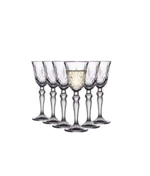 Lyngby Glas Krystal Melodia Snapseglas 5 Cl. - 6 stk.