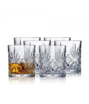 Lyngby Glas 6 Stk. Melodia Whiskyglas á 31 Cl.