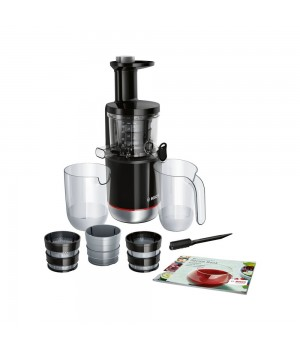 Bosch Slowjuicer 150W - Stål/Sort