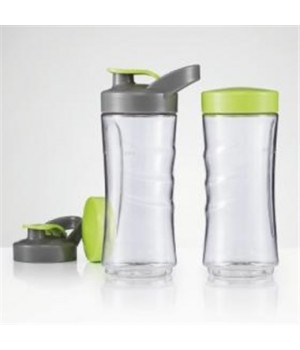 OBH Blender Flasker 2x400 Ml. Til Smoothie Twister.
