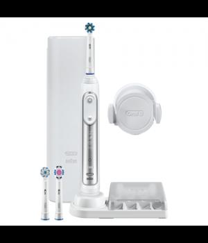 Braun - Oral-B Genius 8000N Silver - Elektrisk Tandbørste.