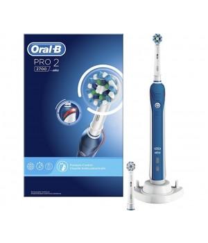 Braun Oral-B El Tandbørste 2700 - Med 2 Børstehoveder