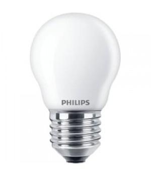 Philips - Pære krone opalglas 40 watt E27