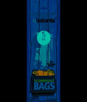 Brabantia - affaldsposer størrelse S miljø/BIO   6 liter 10 stk.