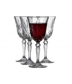 Lyngby Glas - Krystal Melodia Rødvinsglas 27 Cl. 4 Stk.