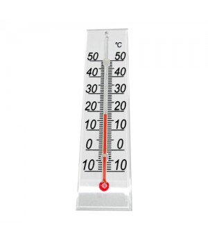 Rosenborg Stuetermometer i plexiglas.