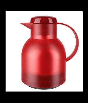 Emsa-Tefal Samba Termokande 1 Liter Transparent Rød.