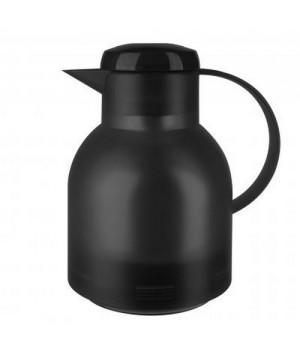 Emsa Samba Termokande 1 Liter Transparent Sort-504235