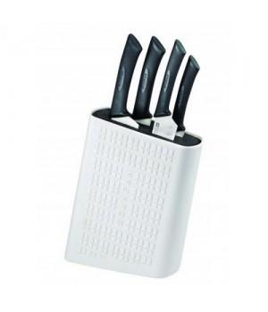 Scanpan Spectrum Hvid Knivblok Med 4 Knive
