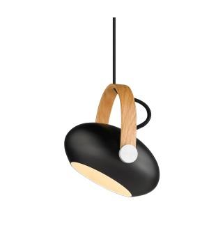 Halo Design - Dc Pendel - Ø 18 Cm. Sort/Eg