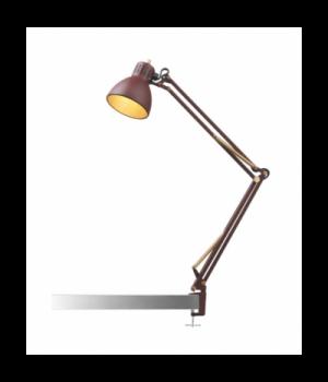 Nordic Living - Archi T1 junior bordlampe mat rød