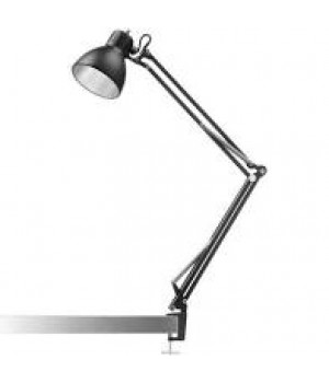 Nordic Living - Archi T1 junior bordlampe mat sort