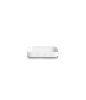 Pillivuyt - Plissé Tapasfad Hvid - L18Cm B12Cm