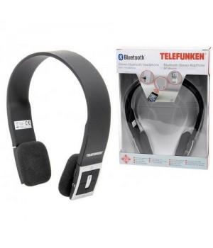 Telefunken Bluetooth Stereo Hovedtelefon Sort.-8711252222073