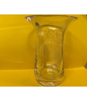 Rosendahl - Filigran Vase 16 Cm. - M/Hvide Hjerter