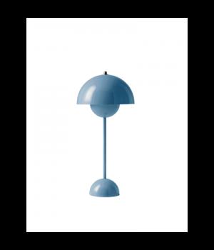 &Tradition -Flowerpot bordlampe VP3 lys blå