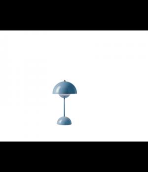 &Tradition -Flowerpot opladelig bordlampe VP9 lys blå