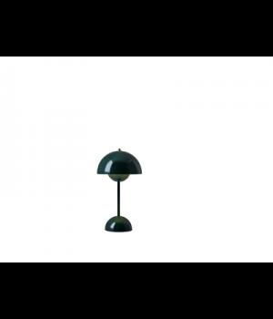 &Tradition -Flowerpot opladelig bordlampe VP9 mørk grøn
