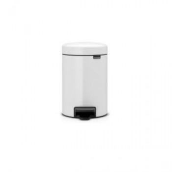 Brabantia - Pedalspand 5 liter hvid