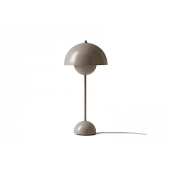 &Tradition -Flowerpot bordlampe VP3 beige grå