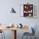 Lyngby - Rhombe Color Skål Blå - Ø13 cm
