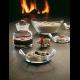 Rosendahl - Grand Cru Dessert Tallerken - Glas 4Pak 16 Cm