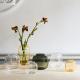 Holmegaard - Oval Vase Primula - Smoke  H17,5 cm