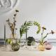 Holmegaard - Oval Vase  Primula -  Klar H17,5 Cm