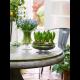 Holmegaard - Vase Old English - Klar  H24 cm
