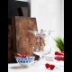Holmegaard - Vase Old English - Klar  H19 cm