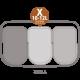 Brabantia - Bo Pedalspand 3 x 11 Liter - Hvid