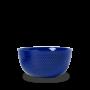 Lyngby - Rhombe Color Serveringsskål Ø22 Cm - Mørk Blå