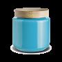 Holmegaard - Palet Lågkrukke Lys Blå - 2,0 l