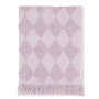 JUNA - Diamant Håndklæde 50x100 Cm - Rosa