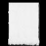 JUNA - Diamant Håndklæde 70x140 cm - Hvid