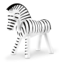 Kay Bojesen Zebra Sort Og Hvid 14 cm